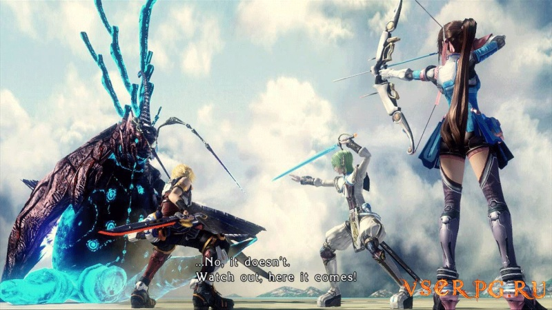 Star Ocean: The Last Hope screen 1