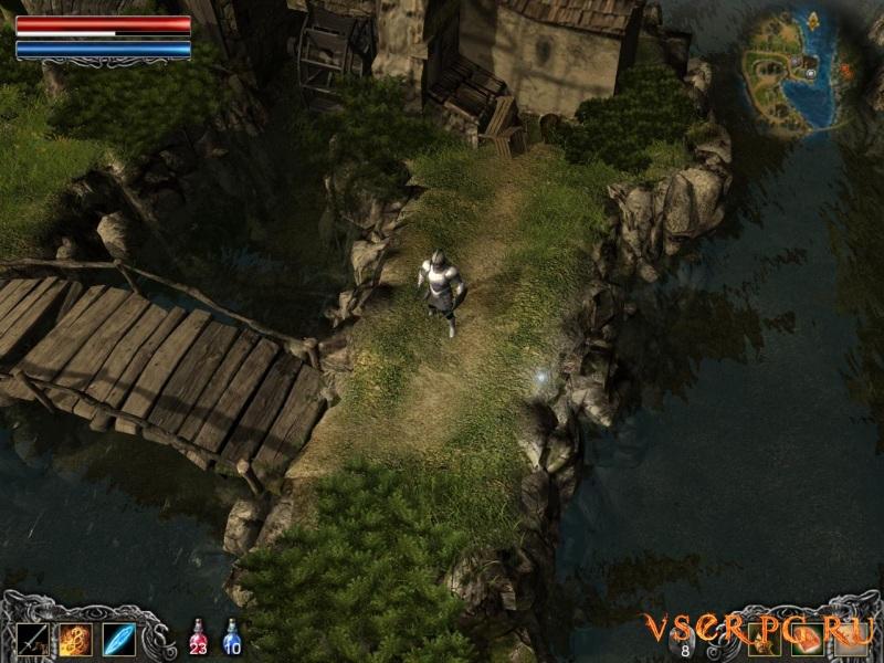 Legend: Hand of God screen 3