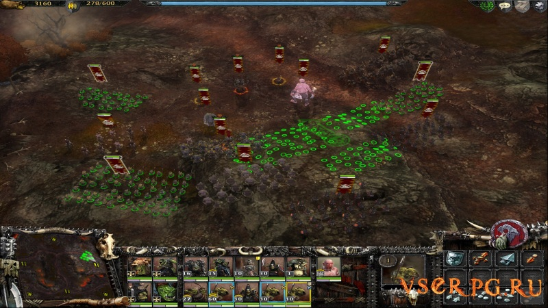 Warhammer Mark of Chaos: Battle March screen 1