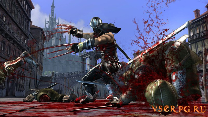 Ninja Gaiden 2 screen 1