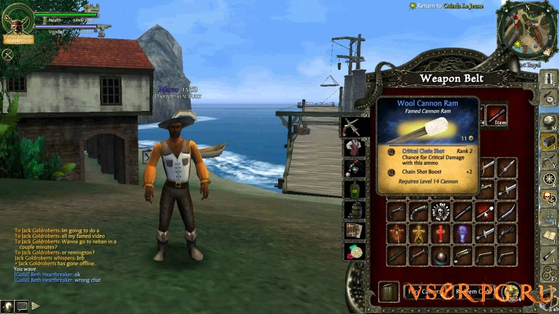 Pirates of the Caribbean Online screen 1