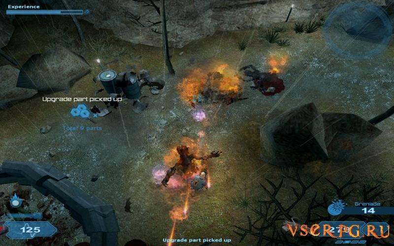 Shadowgrounds Survivor screen 1