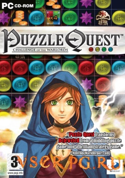 Постер игры Puzzle Quest: Challenge of the Warlords