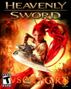 Постер игры Heavenly Sword