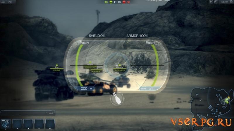 Metal War Online: Retribution screen 1