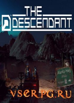 Постер игры The Descendant
