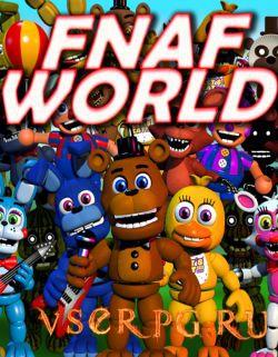 Постер игры FNaF World