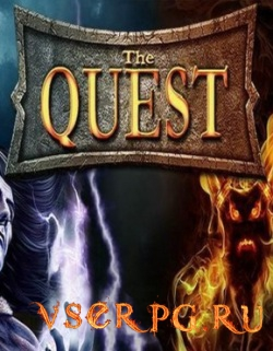 Постер игры The Quest: Islands of Ice and Fire