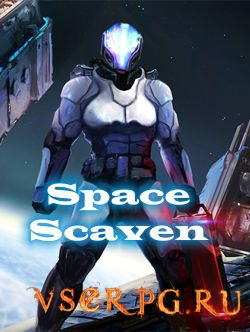 Постер игры Space Scaven