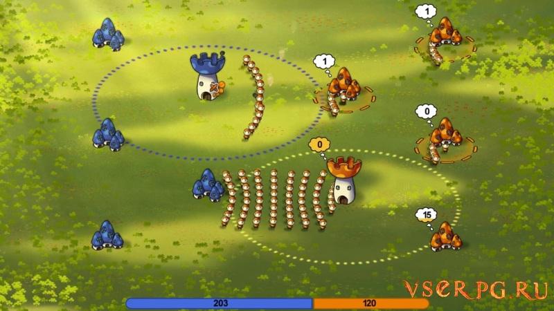 Mushroom Wars screen 2