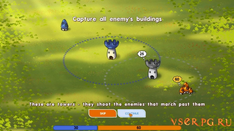 Mushroom Wars screen 1