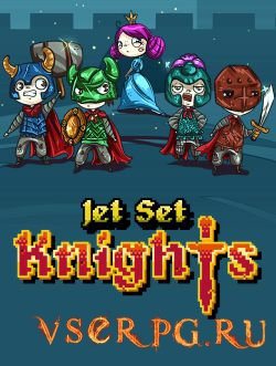 Постер игры Jet Set Knights