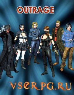 Постер игры Outrage