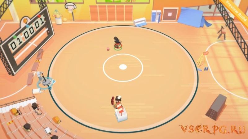 Stikbold A Dodgeball Adventure screen 1