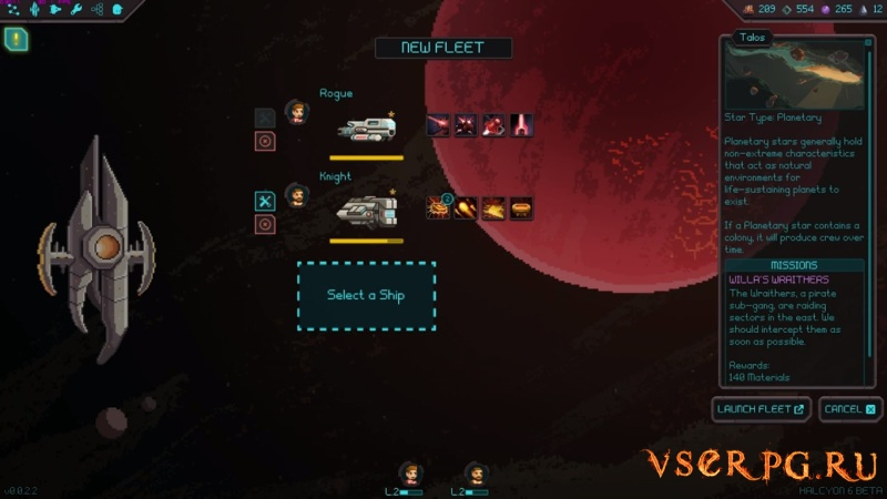 Halcyon 6: Starbase Commander screen 3