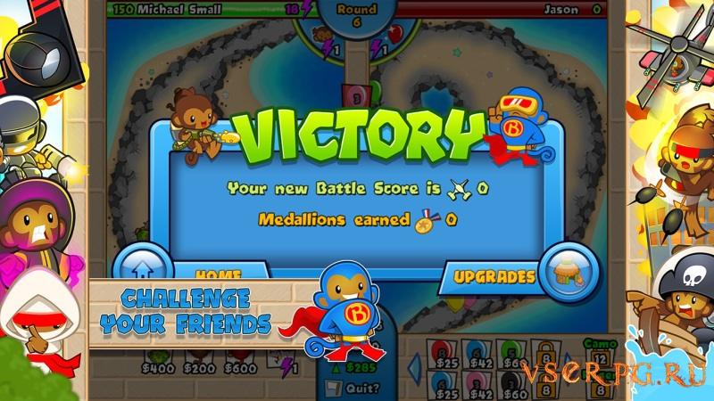 Bloons TD Battles screen 3