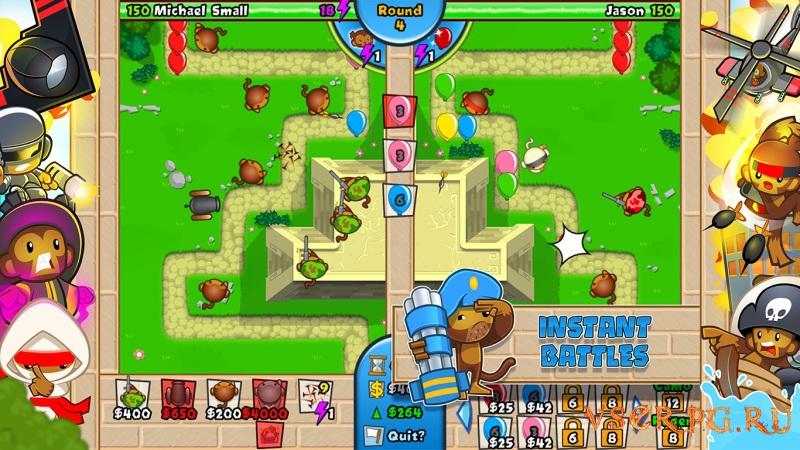Bloons TD Battles screen 2