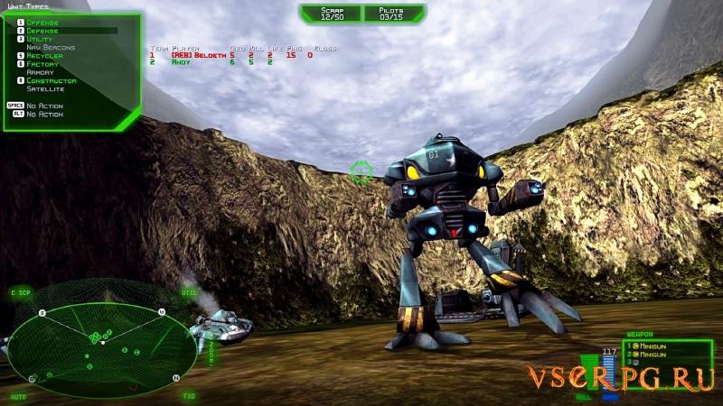 Battlezone 98 Redux screen 1