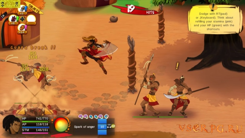 Aurion: Legacy of the Kori-Odan screen 3