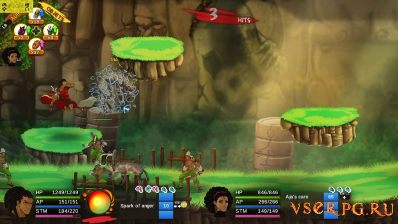 Aurion: Legacy of the Kori-Odan screen 1