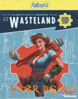 Постер игры Fallout 4: Wasteland Workshop