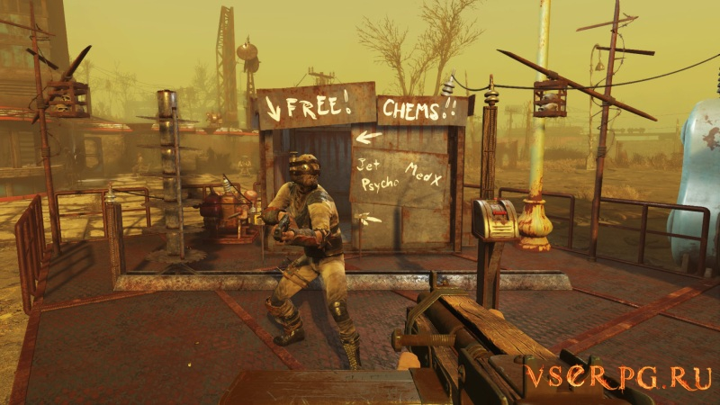Fallout 4: Wasteland Workshop screen 1