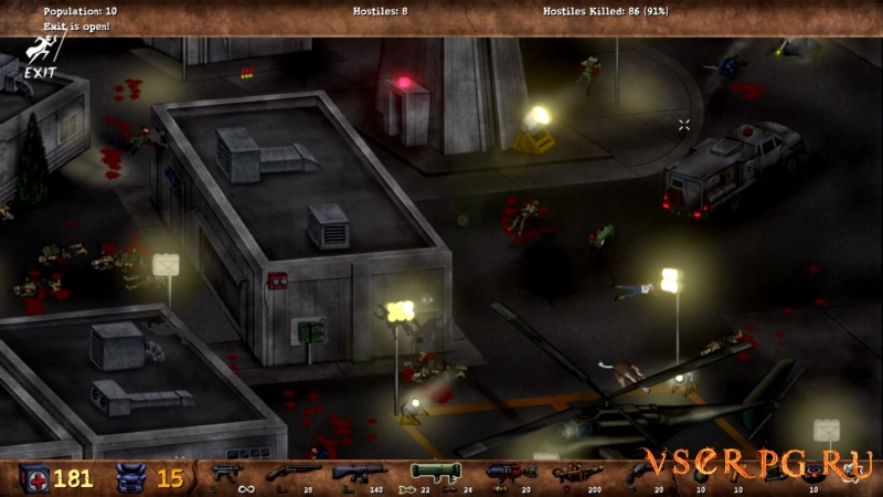 POSTAL Redux screen 1