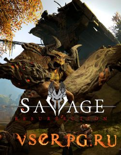 Постер игры Savage Resurrection
