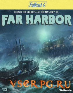 Постер игры Fallout 4: Far Harbor