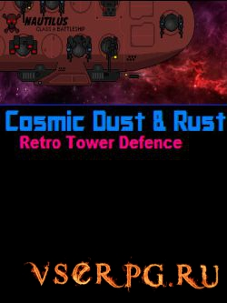 Постер игры Cosmic Dust & Rust