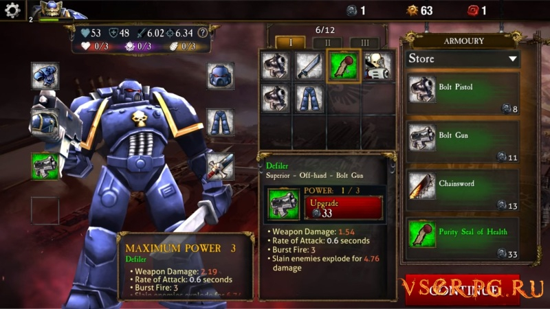 Warhammer 40,000: Carnage Champions screen 3