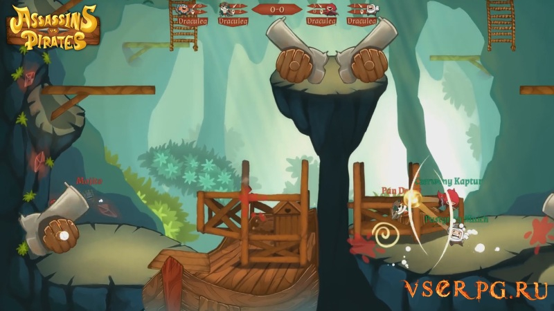 Assassins vs Pirates screen 2