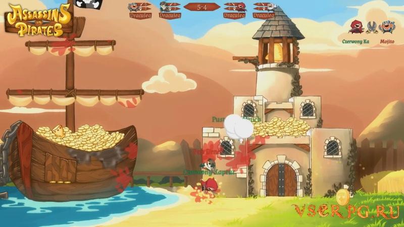 Assassins vs Pirates screen 3