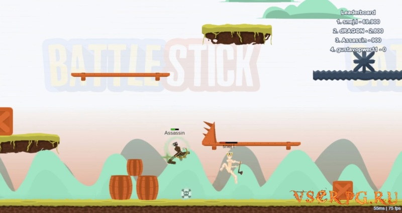 BattleStick screen 3