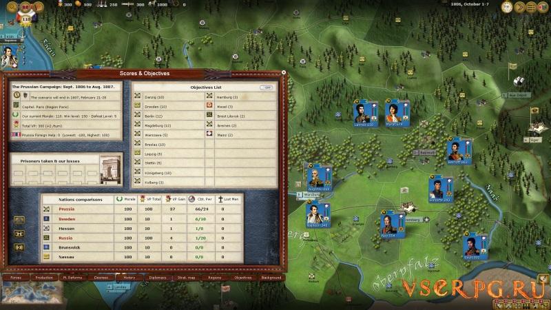 Wars of Napoleon screen 1