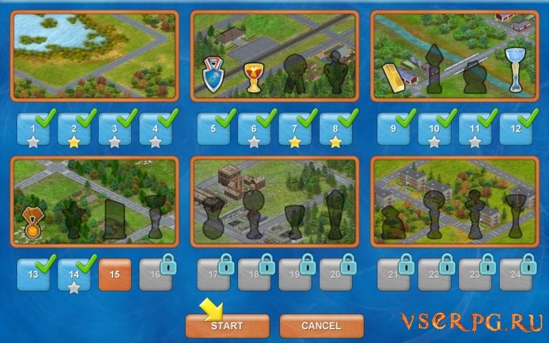 Townopolis screen 1
