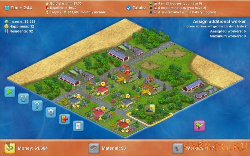 Townopolis screen 2