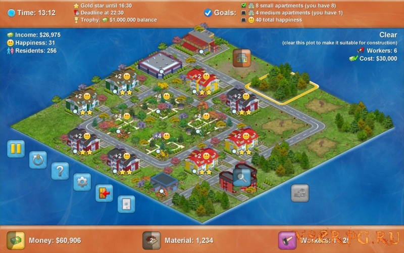 Townopolis screen 3
