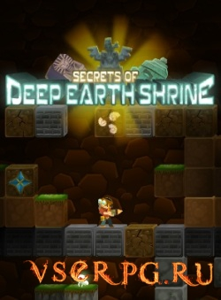 Постер игры Secrets of Deep Earth Shrine