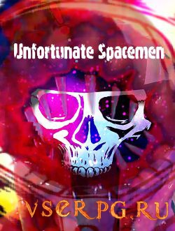 Постер игры Unfortunate Spacemen