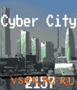 Постер игры Cyber City 2157: The Visual Novel