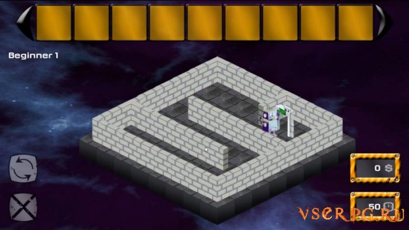 Abrix the robot screen 1
