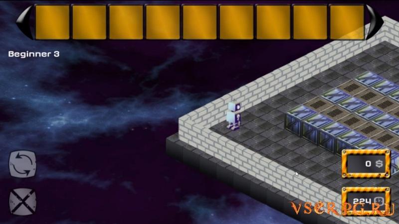 Abrix the robot screen 2