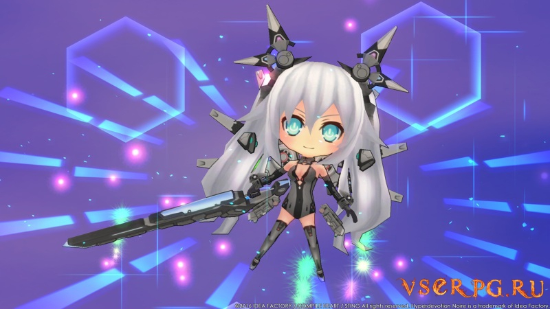 Hyperdevotion Noire: Goddess Black Heart screen 2