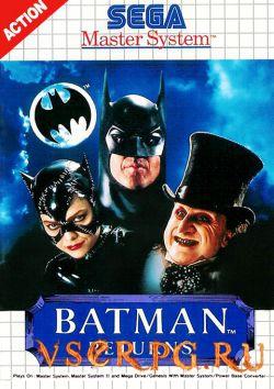 Постер игры Batman Returns