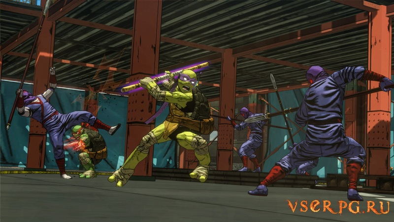 Teenage Mutant Ninja Turtles: Mutants in Manhattan screen 2