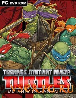 Постер игры Teenage Mutant Ninja Turtles: Mutants in Manhattan