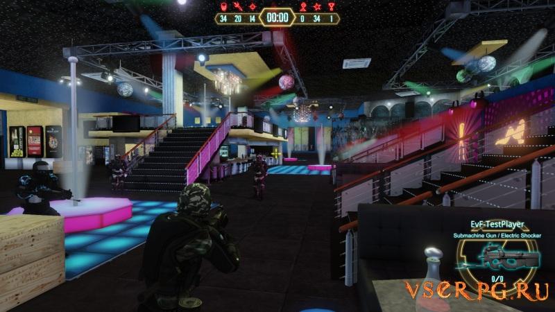 Elite vs Freedom screen 1