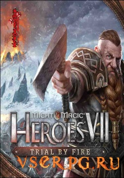 Постер игры Might and Magic: Heroes VII – Trial by Fire