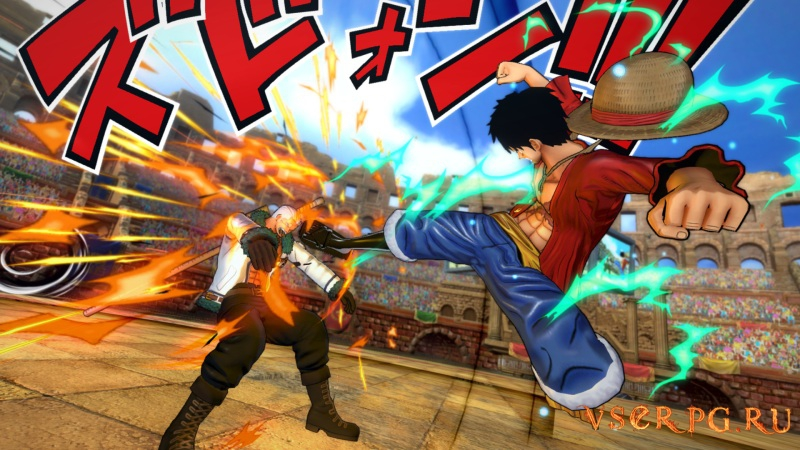 One Piece Burning Blood screen 2